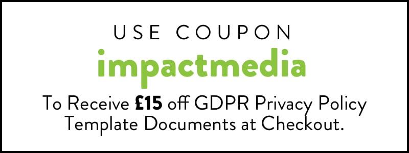 gdpr template coupon