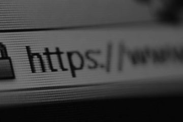 photo of a browser address bar with an ssl secured url