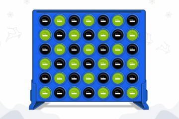 still of impact media's connect 4 game