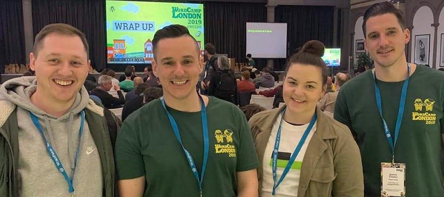 impact team at WordCamp London
