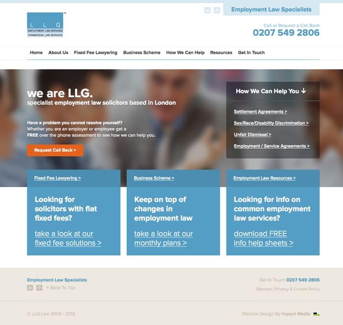 llg website 2013