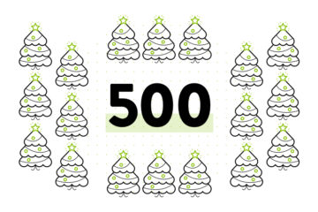 500 Trees Planted in North America