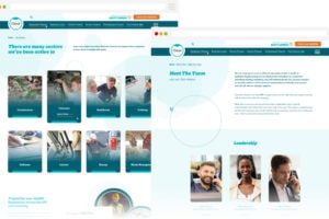 Clear Business Finance - Team Page Design