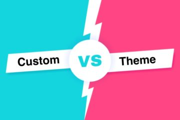 Pre-Built Themes Vs. Custom WordPress Websites