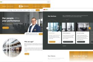 AGP - Homepage Design