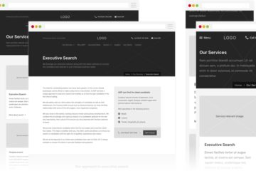 AGP - Wireframes - Services