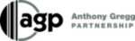 Anthony Gregg Partnership logo in greyscale