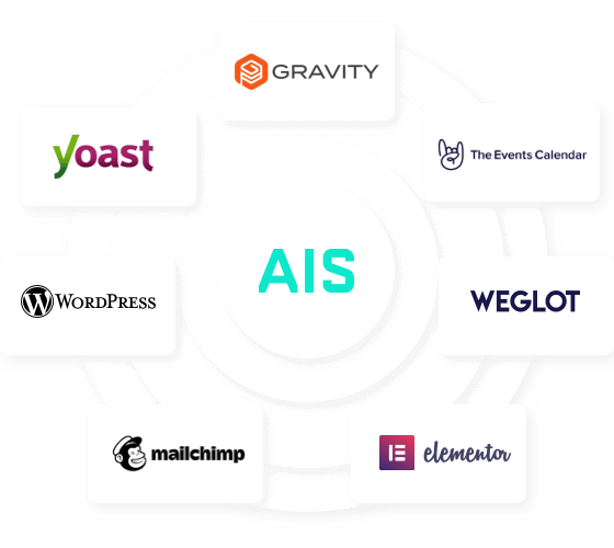 Website Technology Used for AIS